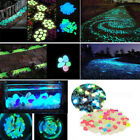 100 Pcs Glow in the Dark Stone Luminous Sea Aquarium Fish Tank Pool Decor $8.69 USD on eBay