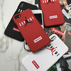 Supreme Michael Jordan Hard Case Protective Cover for iPhone 6 6s plus7 8 plus X