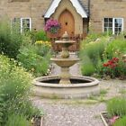 Cast Stone Double Bowl Fountains from Acanthus