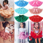 Внешний вид - Kids Baby Girl Princess Party Ballet Dancewear Tulle Tutu Skirt Dress Pettiskirt