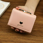 2018 Love Small Womens Wallets Purse Students Coin Purse 3 Fold Wallet Female
