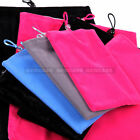 Soft Velvet Cloth Jewelry Pouch Bag For -  3 Different Size. 5  to 10