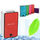 Mini Cooli Rechargeable Handheld Air Conditioning Fan Desktop USB Cooler Summer