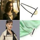 Han Solo Star Wars Story Emilia Clarke Qi Ra Qira Half Circle Necklace Cosplay $10.97 USD on eBay