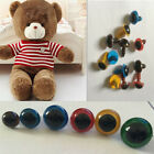 100Pcs 8mm Color Plastic Safety Eyes For Teddy Bear Doll Animal Puppet Craft.