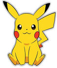 Cute Pikachu Pokemon Anime Car Window Cling Decal Sticker Removable PVC Mural