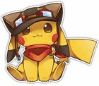 Внешний вид - Cute Pikachu Pokemon Anime Car Window Cling Decal Sticker Removable PVC Mural
