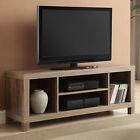 TV Console Stand 42 Inch Media Entertainment Center Home Theater Wood Storage