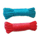 Внешний вид - 100ft Plastic Clothes Line Household Outdoor Laundry Rope String RED or BLUE BU1