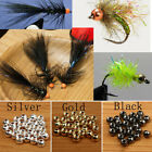 7 Sizes Fly Tying Fishing Beads Tungsten Fly Fishing Head Ball Beads 25pcs / lot
