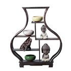 Chinese Antique Style Solid Wood Display Frame Wooden Display Shelves Cabinet