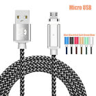 Magnetic Type C Lightning Micro USB Plug Charger Cable For iPhone Samsung S9 S8+
