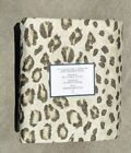 WILLIAMS SONOMA ~ POTTERY BARN CHEETAH DUVET COVER - FULL/QUEEN or KING/CAL KING