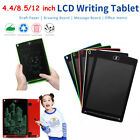 New 4.4/8.5/12 Inch Large LCD e-Writer Tablet Writing Drawing Memo Boogie Board