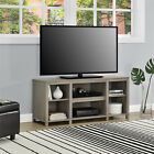 """TV Console Stand 50"""" Media Entertainment Center Theater Wood Cabinet Storage"""