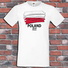 World Cup T-Shirt. Group H Poland Senegal Colombia Japan Fans Supporters Tee