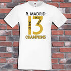 Real Madrid 13 Champions League Winners Shirt 1 st time 3 in a row T-Shirt