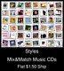 Styles(10) - Mix&Match Music CDs U Pick *NO CASE DISC ONLY*