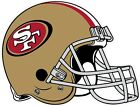San Francisco 49ers Helmet NFL Vinyl Decal / Sticker Sizes Free Shipping $5.29 USD on eBay