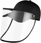 Fisherman Bucket Mesh Boonie Hat Outdoor Sun Protect Face Flap Cap Wide Brim