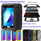 Shockproof Waterproof Gorilla Glass Screen Case Cover For Samsung Galaxy Series