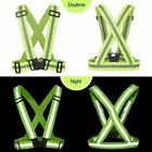 High Visibility Reflective Vest Safety Belt For Running Walking Cycling Biking