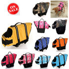Dog Swimming Clothes Pet Flotation Adjustable Water Safety Swimmer Life Jacket