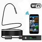 WIFI Endoscope Wireless 8LED IP68 Borescope Inspection Camera for iPhone Android