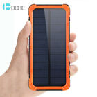12000mAh Universal Solar Power Bank 2USB 6LED Battery Charger For iPhone 8 X 7