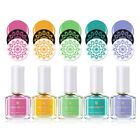 6ml BORN PRETTY Nail Stamping Polish Colorful Series Plate Printing Polish