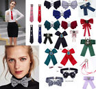 Women Bow Collar Bow Brooch Party Decor Elegant Fashion Choker Retro Ribbon Tie