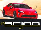 1 Scion Windshield Decal Sticker fr-s tc xb Large 40''x4'' on eBay