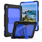 """For iPad 9.7"""" 2018/2017 Case Heavy Duty Shockproof Silicone Cover Shoulder Stand"""