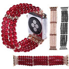 Women's Pearl Stretch Bracelet Watch Band Strap For Apple Watch iWatch 5 4 3 2 1 image