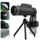 Day&Night Vision Telescope 40x60 HD Zoom Monocular Hunting Camping For Phone US