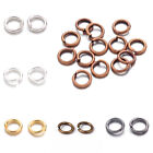 Kyпить 10g Strong Brass Open Jump Rings Unsoldered Loop Findings 6 Colors Pick 4~10mm на еВаy.соm