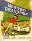 Vintage Grand Prix Monterey Cars Racing Poster