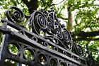 104184 Close Up of Ornate Iron Gate Charleston Decor WALL PRINT POSTER CA