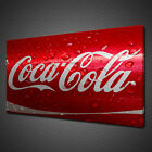 RED COCA COLA CAN CLOSE UP KITCHEN MODERN CANVAS PRINT WALL ART PICTURE PHOTO £19.99  on eBay