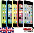 UNLOCKED APPLE iPHONE 5C - 8GB - 16GB - 32GB -SIM FREE MOBILE SMARTPHONE VARIOUS