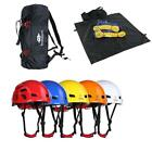 Lightweight Poverty-stricken Climbing Rope Gear Bag Ground Sheet + Safety Protection Helmet