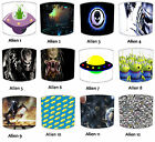 Lampshades Ideal To Match Outer Space Duvets, Alien Duvets & Outer Space Decals.