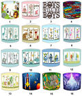 Lampshades Ideal To Match Children`s Wall Art, Wall Decals & Stickers & Duvets.