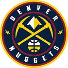 Denver Nuggets NBA Color Die Cut Decal Sticker Choose Size cornhole