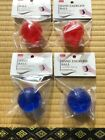 HAND GRIP EXERCISE BALL Red Blue - Japan Import Grip strength rehabilitation F/S