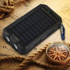 50000mAh Waterproof Power Bank 2USB 2LED Backup Battery Charger For iPhone 8Additional