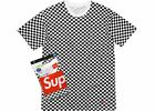 Supreme X Hanes CHECKERBOARD Tagless Small Box Logo Tee Shirt ( 1 T-SHIRT ONLY)