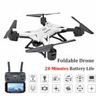 KY601S Drone RC Helicopter Foldable Long Battery Life 6-Axis Aircraft HD 1080P