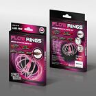 Kids Kinetic Magic Flow Rings Spring Juggle Arm Slinky Free Flow Toy Dance