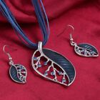 Women's fashion rope chain with alloy pendant necklace & Earrings jewellery set